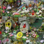 flowers birds figurines